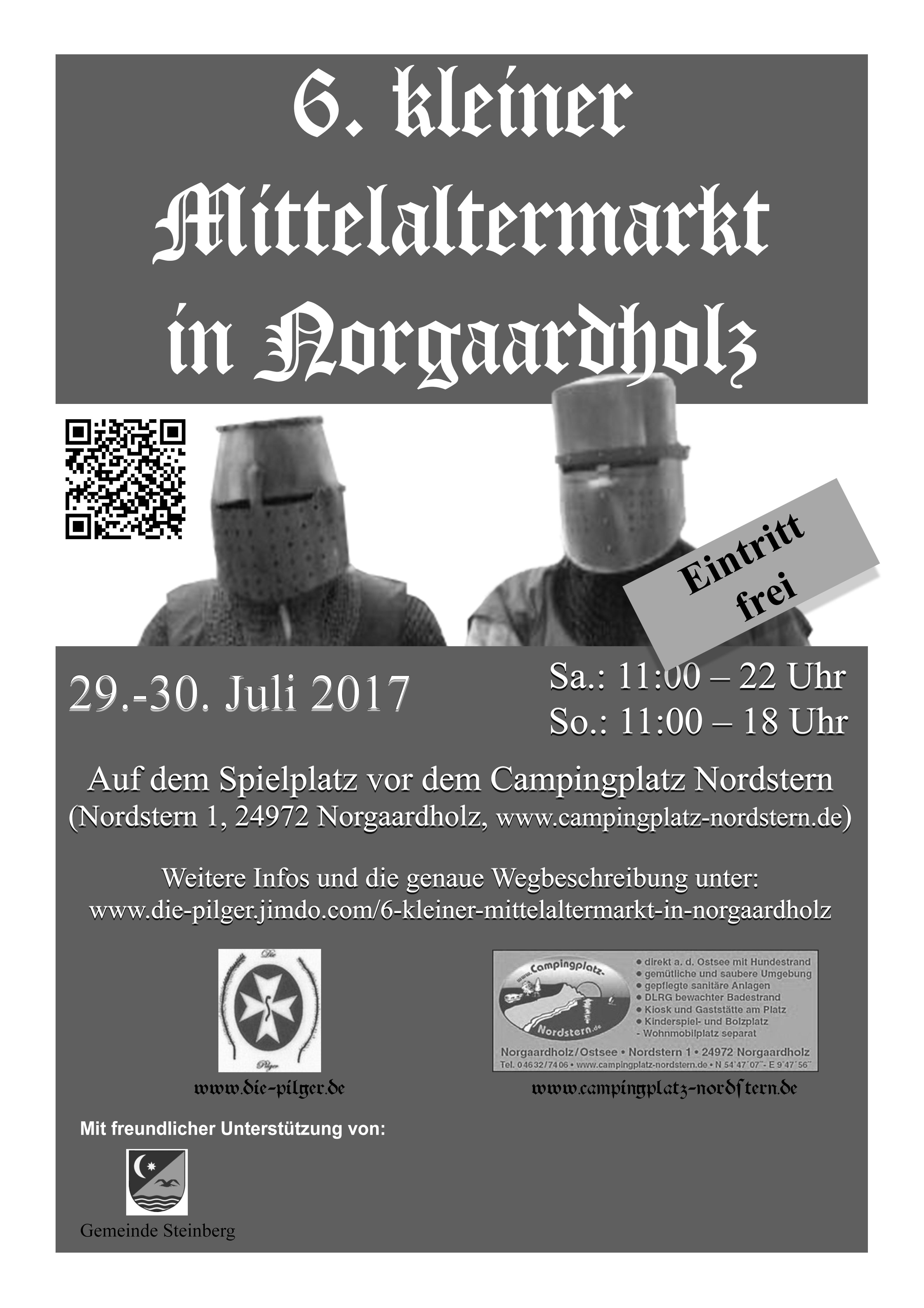 6. kleiner Mittelaltermarkt in Norgaardholz